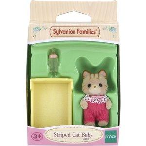 Игровой набор Sylvanian Families Малыш Полосатый котёнок (5186) от ТЕХПОРТ
