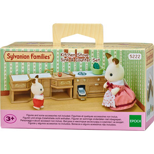 Игровой набор Sylvanian Families Кухонный гарнитур (5222) от ТЕХПОРТ