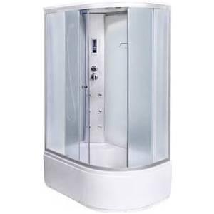 все цены на Душевая кабина Aqualux MODO-120 матовоестекло/заднее стекло белое (AQ-4072GFL-Wh) онлайн