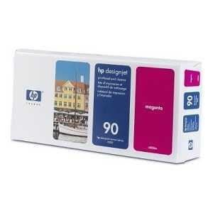 Печатающая головка HP N90 пурпурная (C5056A) печатающая головка чистящая головка hp c5057a 90 для designjet 4000 4000ps 4500 4500ps желтый
