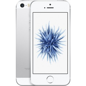 Смартфон Apple iPhone SE 32Gb Silver (MP832RU/A) apple iphone 5s 32gb a1530