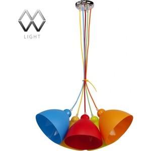 Подвесная люстра MW-LIGHT 365014505 подвесная люстра mw light улыбка 365014505