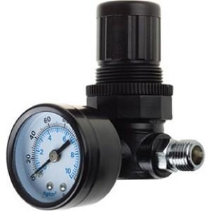 Фотография товара регулятор давления Kraftool 1/4'' с манометром Industrie (06503) (531764)