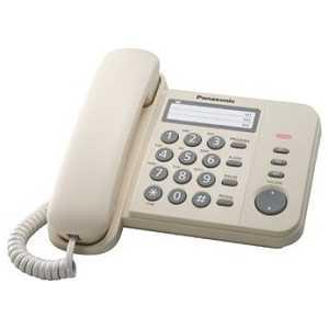 Проводной телефон Panasonic KX-TS2352RUJ проводной телефон panasonic kx ts2363 белый kx ts2363ruw
