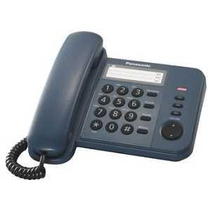 Проводной телефон Panasonic KX-TS2352RUC телефон ip panasonic kx nt553rub черный