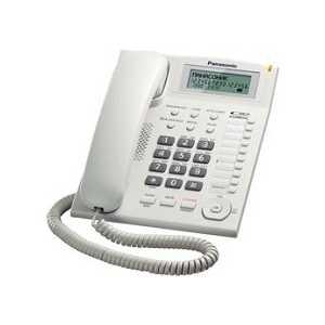 Проводной телефон Panasonic KX-TS2388RUW проводной телефон panasonic kx ts2350rub