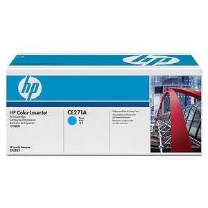 Картридж HP голубой LaserJet CP5520 (CE271A) картридж hp q1338a для hp laserjet 4200 q1338a
