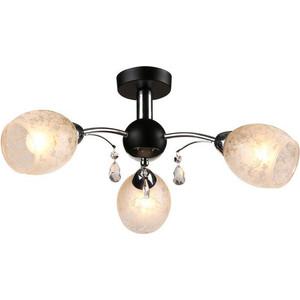Потолочная люстра IDLamp 843/3PF-Blackchrome потолочная люстра idlamp 206 3pf blackchrome