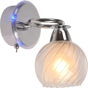 Бра IDLamp 224/1A-Chrome бра idlamp 877 1a darkchrome