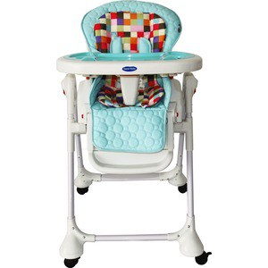 Стульчик для кормления Sweet Baby Luxor Multicolor Blu