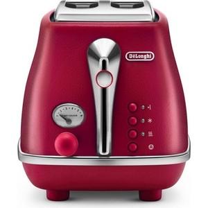 Тостер DeLonghi CTOE 2103.R тостер delonghi ctoe 2103 красный