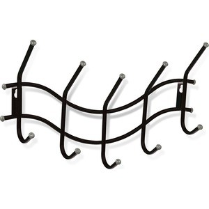 Вешалка Sheffilton Волна 2 черный/серый (3 штуки) вешалка sheffilton волна 2 белый серый 3 штуки