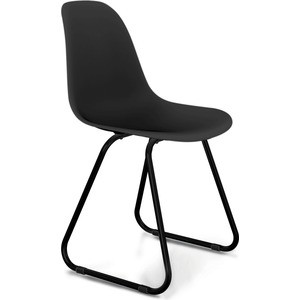 Стул Sheffilton SHT-S38 черный/черный муар стул барный sheffilton sht s48 черный черный муар 2 штуки