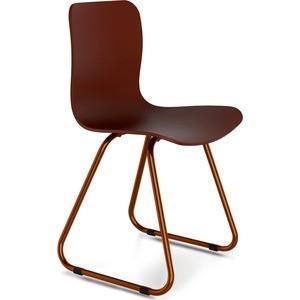 Стул Sheffilton SHT-S41 коричневый/медный мет. стул sheffilton sht s40 коричневый медный мет