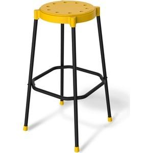 Стул барный Sheffilton SHT-S48 желтый/черный муар, (2 штуки) стул барный sheffilton sht s48 черный черный муар 2 штуки