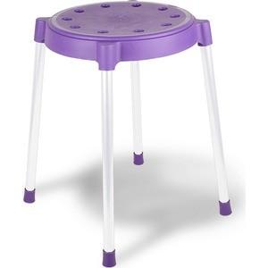 Табурет Sheffilton SHT-S36 фиолетовый/серый, 4 шт