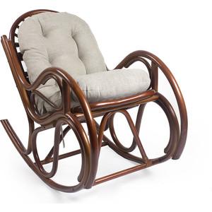 Кресло-качалка Мебель Импэкс Bella МИ с подушкой коньяк