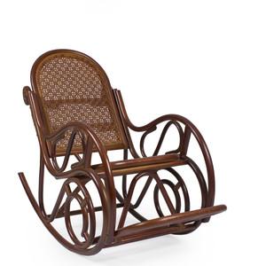 Кресло-качалка Мебель Импэкс Moscow коньяк