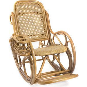 Кресло-качалка Мебель Импэкс Novo Lux Corall мёд цена