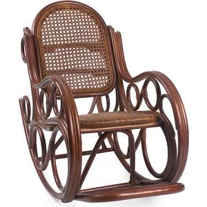 Фотография товара кресло-качалка Мебель Импэкс Novo коньяк с подушкой (538416)