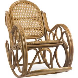 Фотография товара кресло-качалка Мебель Импэкс Novo мёд с подушкой (538417)