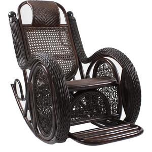 Кресло-качалка Мебель Импэкс Twist Alexa с подушкой орех