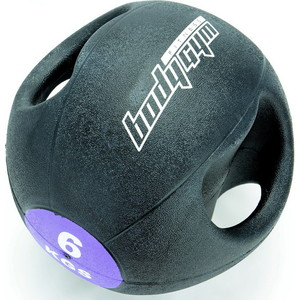 Медицинский мяч Body-Gym 1221-30-А 6кг с рукоятками
