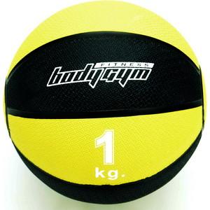 Медицинский мяч Body-Gym 1кг 1221-10 аюрведическое средство от простуды и ангины dabur madhuvaani honitus 150 г