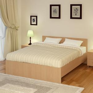 Кровать Промтекс-Ориент Рено 2 Клен танзай (180x200x80 см)