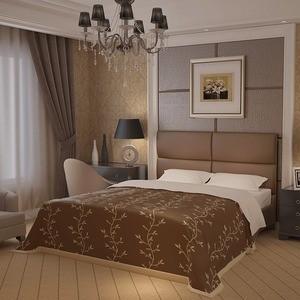 Кровать Промтекс-Ориент Бенито 010 Luxa Perl Nut (200x200x110 см)