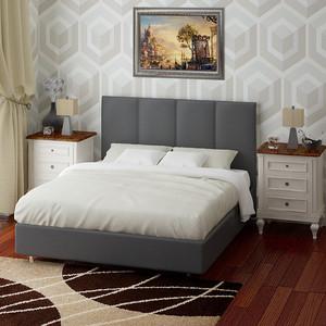 Кровать Промтекс-Ориент Риза с орт решеткой А1 Ecotex Col 117 (200x200x110 см)