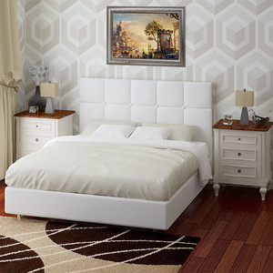 Кровать Промтекс-Ориент Эрин с орт. Решеткой А1 Korfu Flash (200x200x110 см)