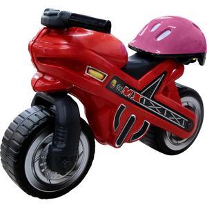 Каталка-мотоцикл Полесье МХ со шлемом (46765)