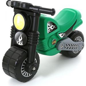 Мотоцикл Wader Моторбайк зелёный (40480) машины wader автомобиль констрак полиция