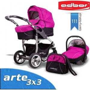 Коляска 3 в 1 Adbor Arte 3x3 111 (00-00000394)