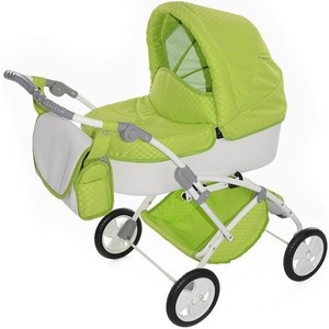 Фотография товара коляска для кукол Tako Laret mini 04 зелененая (00-00000006) (540179)