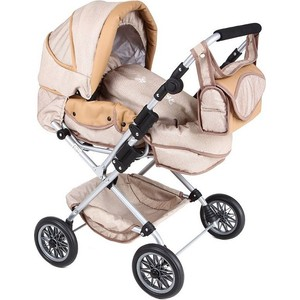 Коляска для кукол Tako WL4 Butterfly 05 т.бежевая (00-00000021) tako детская коляска 2 в 1 tako sportime