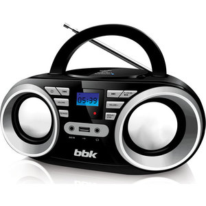 Магнитола BBK BX160BT black metallic магнитола bbk bs03bt black