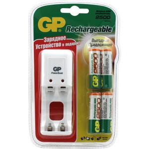 Зарядное устройство GP PB330GS250BB5-CR4 (+аккумуляторы 2500mAh)