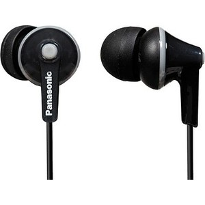 Наушники Panasonic RP-HJE125E-K panasonic rp hde3mgc k in ear earphone stereo sound headphones headset music earpieces with microphone earphones super bass
