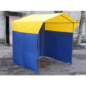Палатка торговая Митек Домик 1,5х1,5 (разборная) палатка торговая митек домик 2 5х1 9 разборная