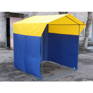 Палатка торговая Митек Домик 2,5х1,9 (разборная) палатка торговая митек домик 2 5х1 9 разборная