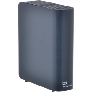 Внешний жесткий диск Western Digital Elements Desktop 2Tb (WDBWLG0020HBK-EESN) 2 5 usb3 0 1 tb western digital elements portable wdbuzg0010bbk eesn