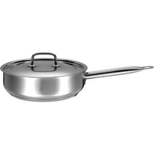 Сковорода d 24 см ВСМПО-Посуда Гурман Профи (330724) кастрюля 5 л всмпо посуда гурман профи 330350