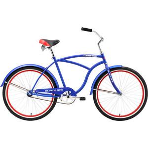 Велосипед Black One Mirage сине-красный 18