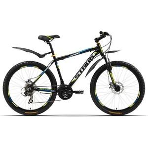 Велосипед Stark Indy Disc черно-синий 16 2016 велосипед challenger mission lux fs 26 черно красный 16
