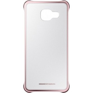 Чехол Samsung A310 Clear Cover Pink (EF-QA310CZEGRU) clear lcd screen protector guard cover film shield for lenovo s820