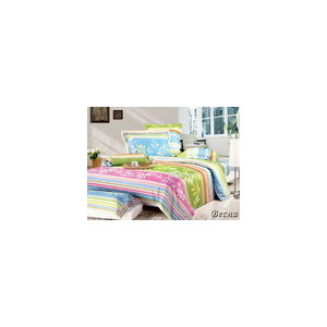 Комплект постельного белья TIFFANY'S secret 1,5 сп, сатин, Весна n70 комплект постельного белья ecotex 2 х сп сатин сюссан кгмсюссан