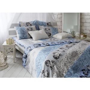 Комплект постельного белья TIFFANY'S secret 2-х сп, сатин, Небесный эскиз n50