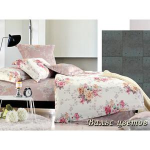 Комплект постельного белья TIFFANY'S secret Евро, сатин, Вальс цветов n50